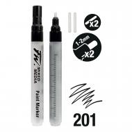 Набор пустых маркеров Daler Rowney FW ARTISTS 2XSM Technical