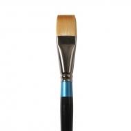 Кисть Daler Rowney Aquafine синтетика, плоская, короткая ручка