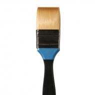 Кисть Daler Rowney Aquafine синтетика флейц, короткая ручка