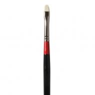 Кисть Daler Rowney Georgian щетина укороченный кошачий язык, длинная ручка