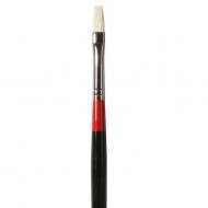 Кисть Daler Rowney Georgian щетина удлиненная плоская, длинная ручка