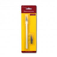 Макетный цанговый нож Сонет НЕВСКАЯ ПАЛИТРА для моделирования и скрапбукинга, 3 лезвия