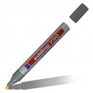 Маркер-краска перманентный Paint EDDING 750, 2-4 мм, черный/белый