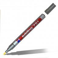 Маркер-краска Paint EDDING 751 для стекла, металла, пластика, резины, 1-2 мм