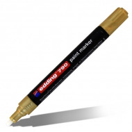 Маркеры перманентные лаковые EDDING 790 для росписи и маркировки, 2-3 мм, цвета в ассортименте