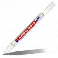 Белый маркер перманентный лаковый EDDING 8010 для рентгеновских снимков и фотопленок, 0,8 мм