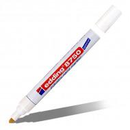 Маркер-краска промышленный Paint EDDING 8750, 2-4 мм, цвет: черный, белый