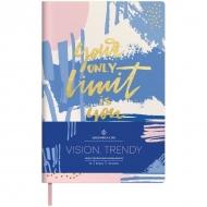 Ежедневник недатированный Greenwich Line Vision.Trendy, формат A5, 136 л., обложка кожзам, тонированная бумага