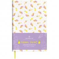 Ежедневник недатированный Greenwich Line Vision.Sweet, формат B6, 136 л., обложка кожзам, тонированная бумага
