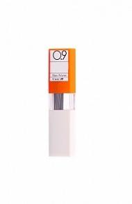 Чернографитовые грифели для механических карандашей Tombow MONO 0,9 мм, твердость 2H, 12 шт.