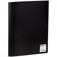 Папка с 10 вкладышами OfficeSpace, 8мм, 400мкм, черная