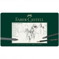 "Набор карандашей ч/г Faber-Castell ""Pitt Graphite"", 26 предметов"