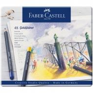 "Карандаши цветные Faber-Castell ""Goldfaber"" 48 цв., круглые"