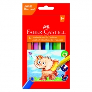 "Карандаши цветные Faber-Castell ""Jumbo"" 12цв. с точилкой"