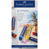 """Пастель масляная Faber-Castell """"Oil Pastels"""", 12 цветов"""