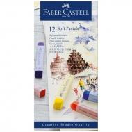 """Пастель Faber-Castell """"Soft pastels"""", 12 цв."""
