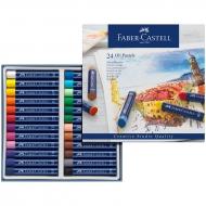 """Пастель масляная Faber-Castell """"Oil Pastels"""", 24 цвета"""