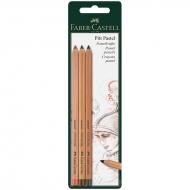 """Пастельные карандаши Faber-Castell """"Pitt Pastel"""" 3 цвета"""