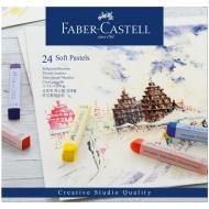 "Пастель Faber-Castell ""Soft pastels"", 24 цвета"