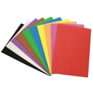 Набор цветной самоклеющейся пористой резины для творчества Fancy Creative, 10 л, А4