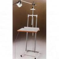 Студийный мольберт с основанием на колесиках Fome с двумя стойками, металл