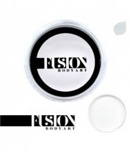Профессиональный гипоаллергенный аквагрим FUSION белый для линий, 32 г