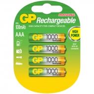 Аккумулятор GP AAA (HR03) 850mAh 2BL (4шт. упаковка)