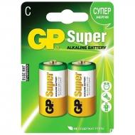 Батарейка GP Super C (LR14) 14A алкалиновая, BC2 (2шт. упаковка)