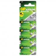 Батарейка GP LR41 (LR4, G3, V3GA, 192) алкалиновая, BC10 (10шт. упаковка)