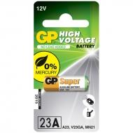 Батарейка GP MN21 (23AF, А23, VA23GA) 12V алкалиновая, BC1 (1шт. упаковка)