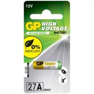 Батарейка GP MN27 (27AF) 12V алкалиновая, BC1 (1шт. упаковка)
