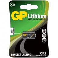 Батарейка GP CR2 (CR16270, 1ER2, DLER2) литиевая BL1 (1шт. упаковка)