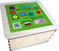 Развивающее пособие из дерева. Дроби (3 уровня в дерев.коробке)