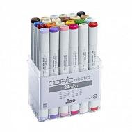 Набор скетч-маркеров Copic Sketch 24 цвета