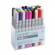 Набор маркеров для рисования Copic Ciao Set E, 36 цветов