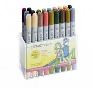 Набор спиртовых маркеров для рисования Copic Ciao Liebe, 20 цветов