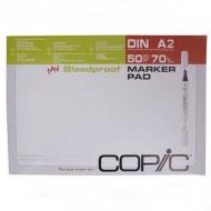 Блок бумаги для рисования маркерами Copic, А2, 50 листов, плотность 70 г