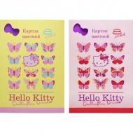 Набор цветного мелованного картона для поделок Action! Hello Kitty, 8 листов, А4
