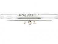 Краскораспылительный комплект 0,2 мм для аэрографов HARDER Evolution/Focus/Grafo/Ultra