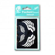 Самоклеющийся шаблон для декора и тату Ki Sign «Крылья Ангела»