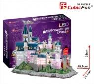 3D-пазл CubicFun Замок Нойшванштайн (Германия), с подсветкой