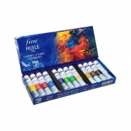 Набор художественных масляных красок Fine Huile LEFRANC&BOURGEOIS, 12 цветов * 20 мл
