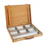 Ящик художника для хранения красок и кистей Mabef, 35x45 см, бук