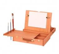 Ящик художника для красок и кистей раскладной Mabef, размер 30x38 см