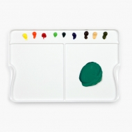 "Палитра для акриловых красок Mijello ""Multi B"", 325х225х8 мм, пластик"