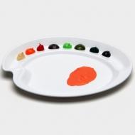 """Палитра для акриловых красок Mijello """"Ellipse S Peel-Off"""", 270х195х20 мм, пластик"""