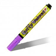 Перманентные маркеры Marvy «Puffy Velvet» 2-3 мм с эффектом бархата для декора ткани, поштучно