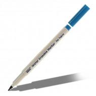 Водорастворимый маркер Marvy Water Erasable для разметки темной ткани, 1мм, белый
