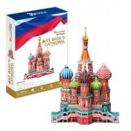 3D-пазл CubicFun Собор Василия Блаженного (Россия)