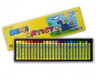 Пастель для детей и взрослых масляная MUNGYO MINI 25 цветов в картонной коробке